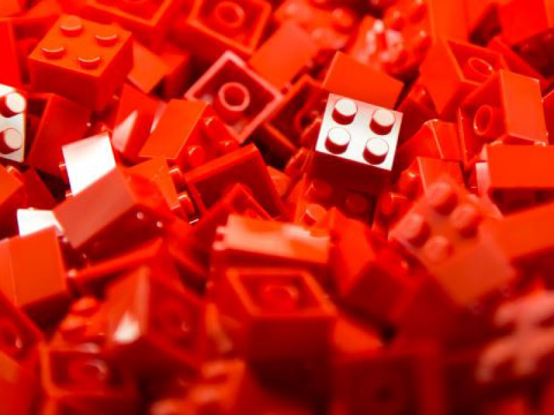 Lean manufacturing workshop lean lego line